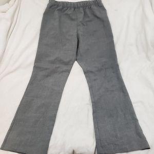 🆕 Destination Maternity Solid Gray Elastic Pants